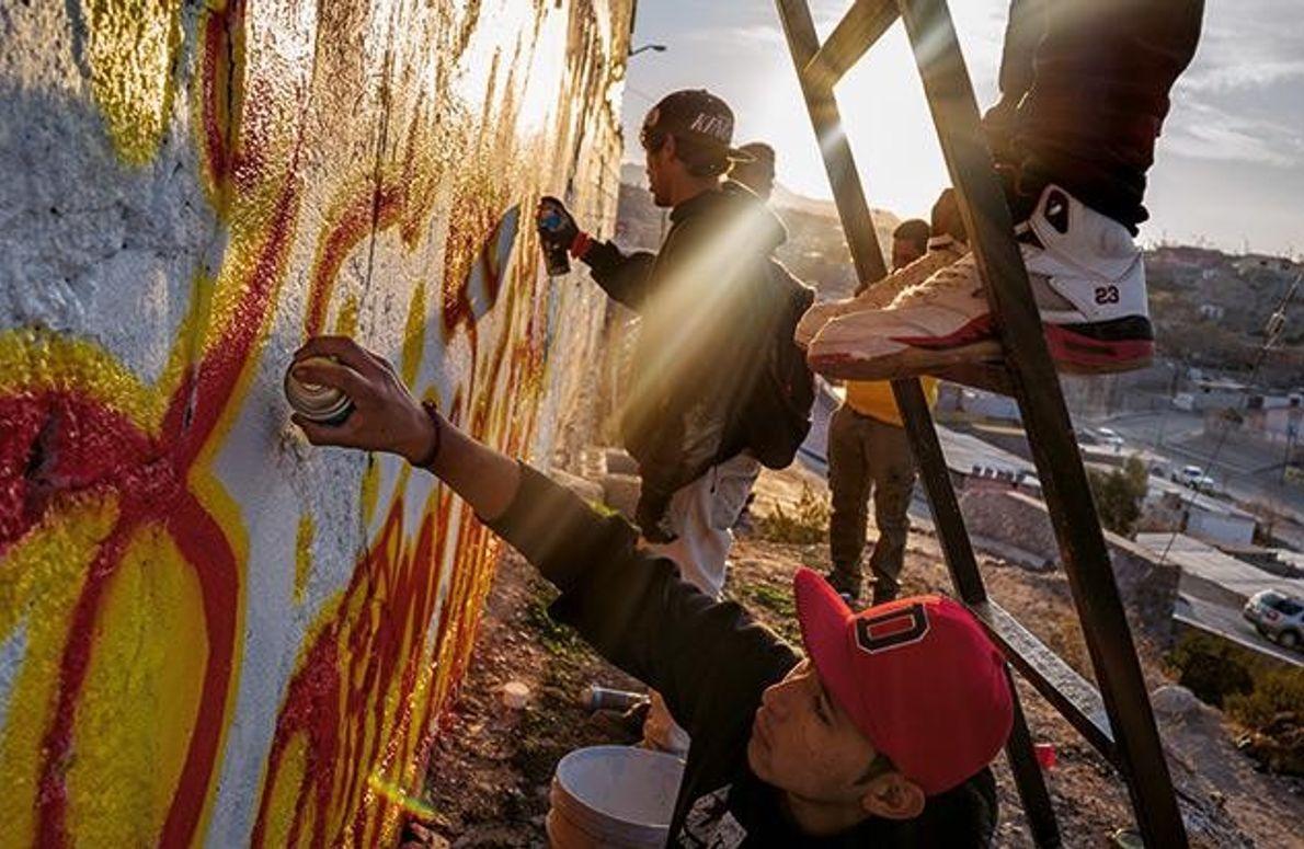Graffiti für die Gemeinschaft