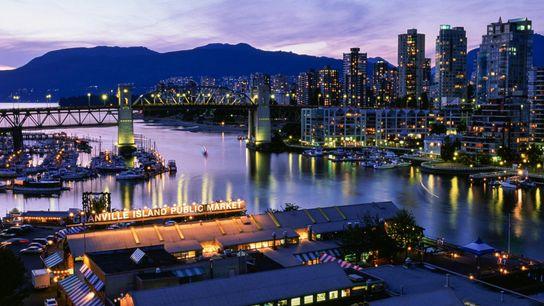 Vancouvers Granville Market