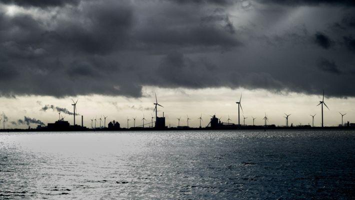 Schutzgebiet Meer Industrie