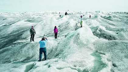 Grönlands Eis frisst sich selbst