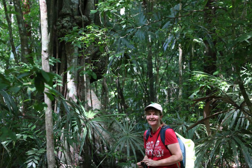 Die promovierte Biologin Elke Mannigel ist Teamleiterin für internationale Projekte bei der Tropenwaldstiftung OroVerde mit Hauptsitz ...