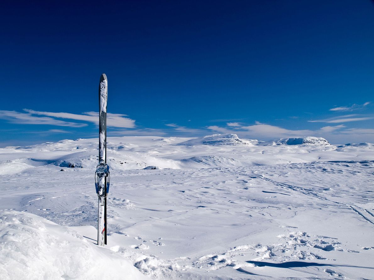 Hardangerjøkulen Glacier, Norway