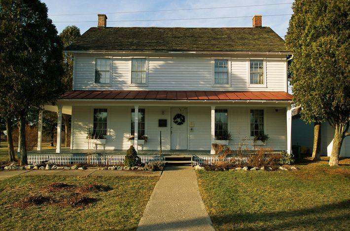 Im Alter von 74 Jahren kaufte Tubman ein Grundstück in Auburn, New York, auf dem sie ...