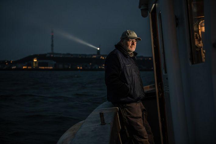 Dieter Klings ist seit 38 Jahren Kapitän der Aade. In dieser Zeit hat er an jedem ...