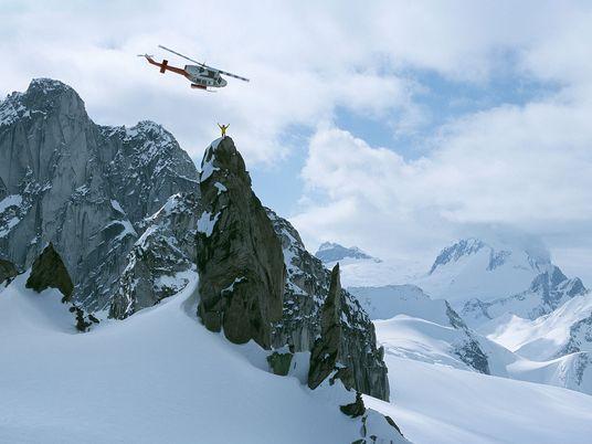 Galerie: Heliskiing in grandiosen Bergketten
