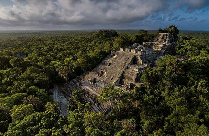 Im 7. Jahrhundert war die Stadt im heutigen Süden Mexikos der Herrschersitz der Schlangen-Könige. Von dort …