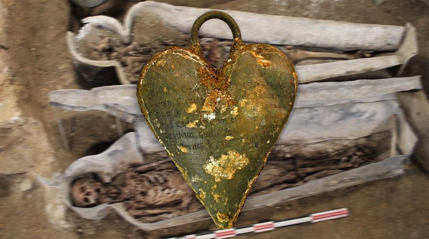 Herz verschenkt: Adelige ließ sich mit Herz ihres Gatten bestatten