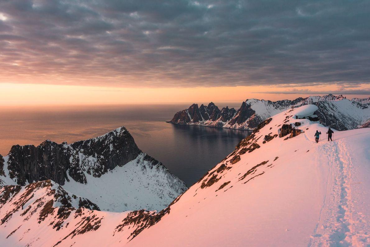 Die Insel Senja in Norwegen