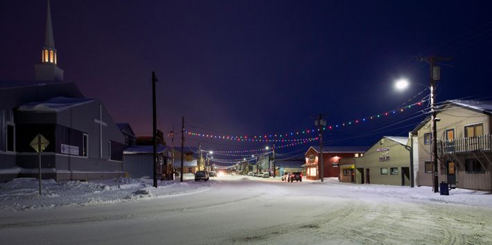 Front Street in Nome