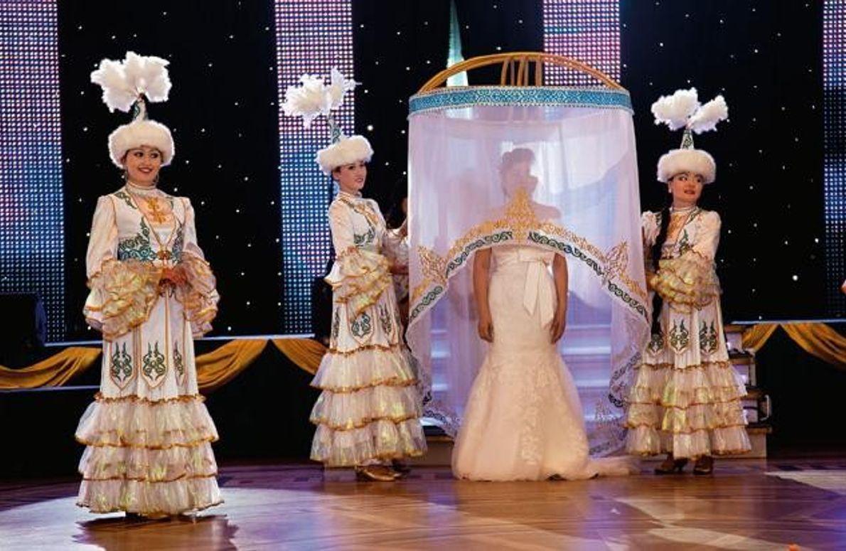 Hochzeit in Astana