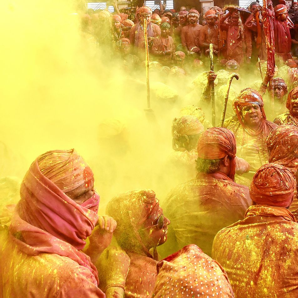 9 Fakten zum farbenfrohen Holi-Fest