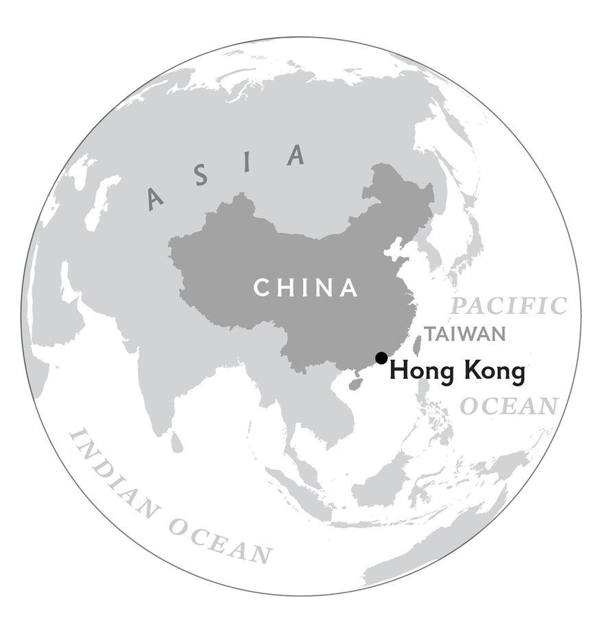 Hongkong befindet sich im Süden Chinas und besteht aus einer Halbinsel und zahlreichen größeren und kleineren ...