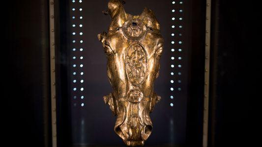 Römer, Germanen und ein goldener Pferdekopf