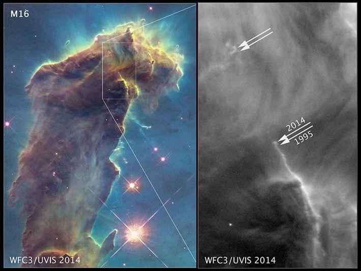 Fotografiert von der NASA, ESA, & Hubble Heritage Team