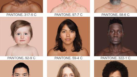 Die Farbvielfalt des Menschen
