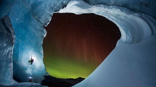Athabasca-Gletschers im kanadischen Alberta