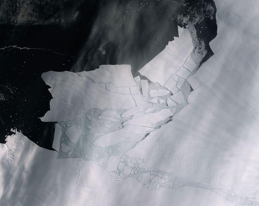 Westantarktikas Gletscher halten gewaltige Eismassen zurück – und sie bröckeln