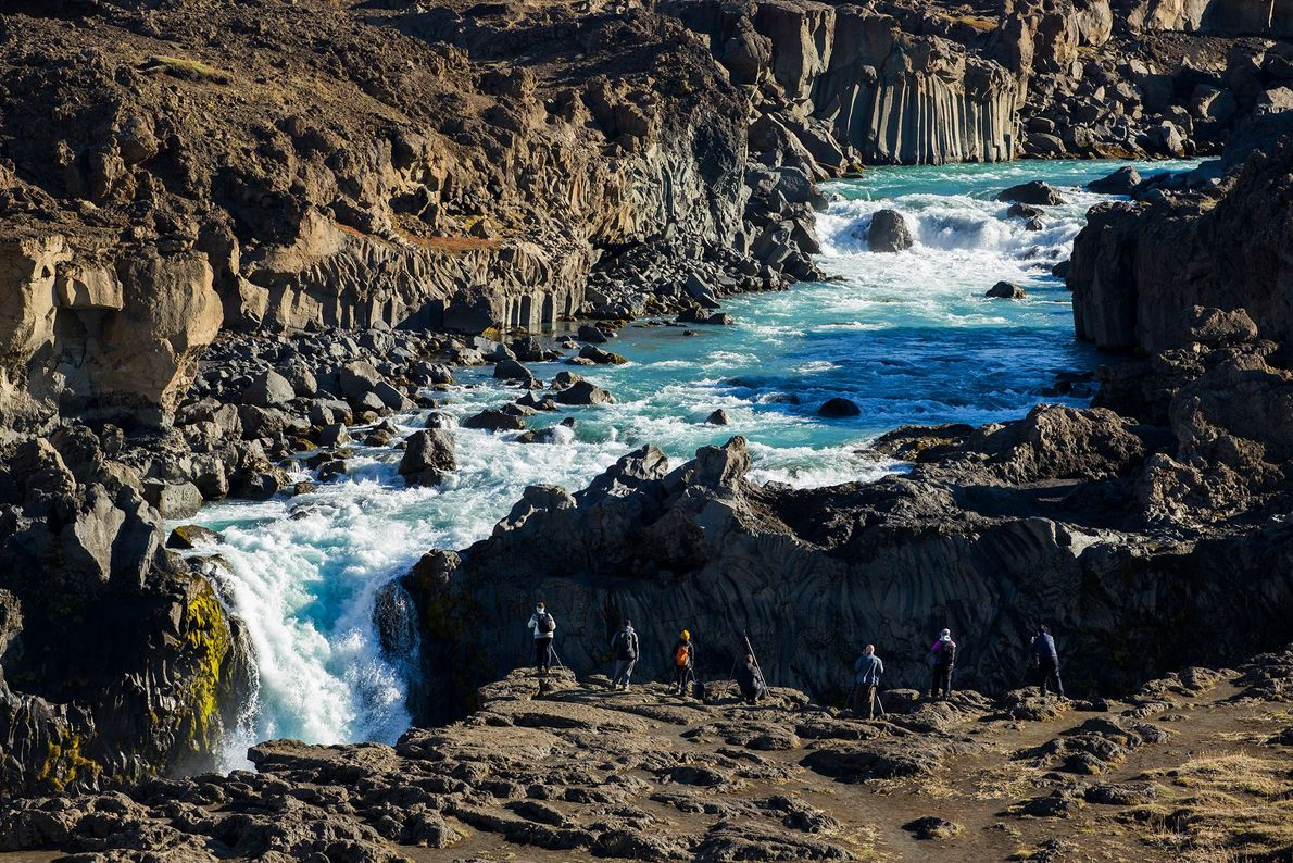 Aldeyjarfoss-Wasserfalls