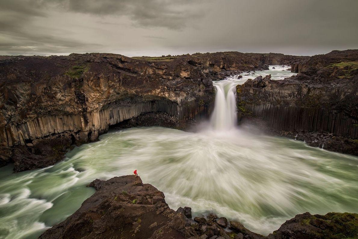 Aldeyjarfoss-Wasserfällen