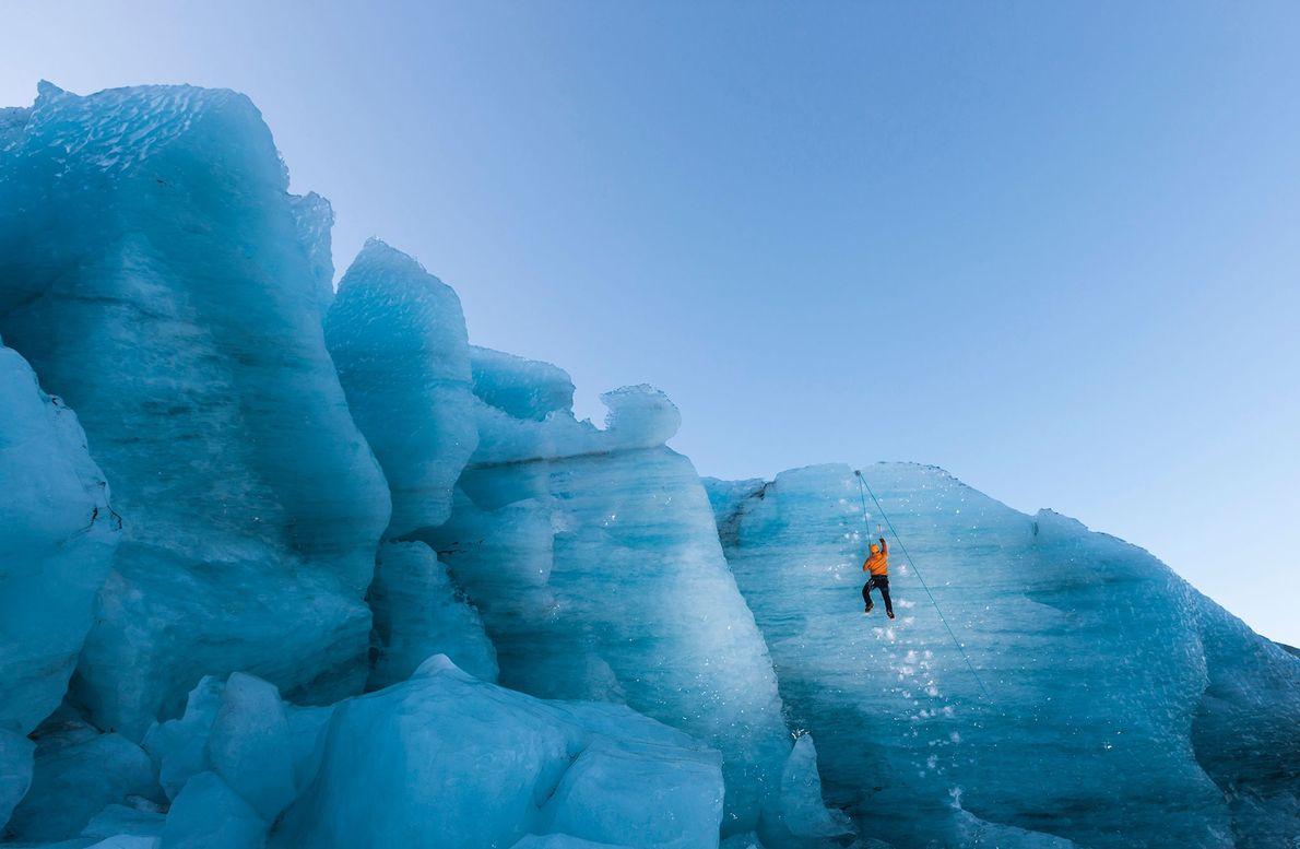 Gígjökull-Gletschers