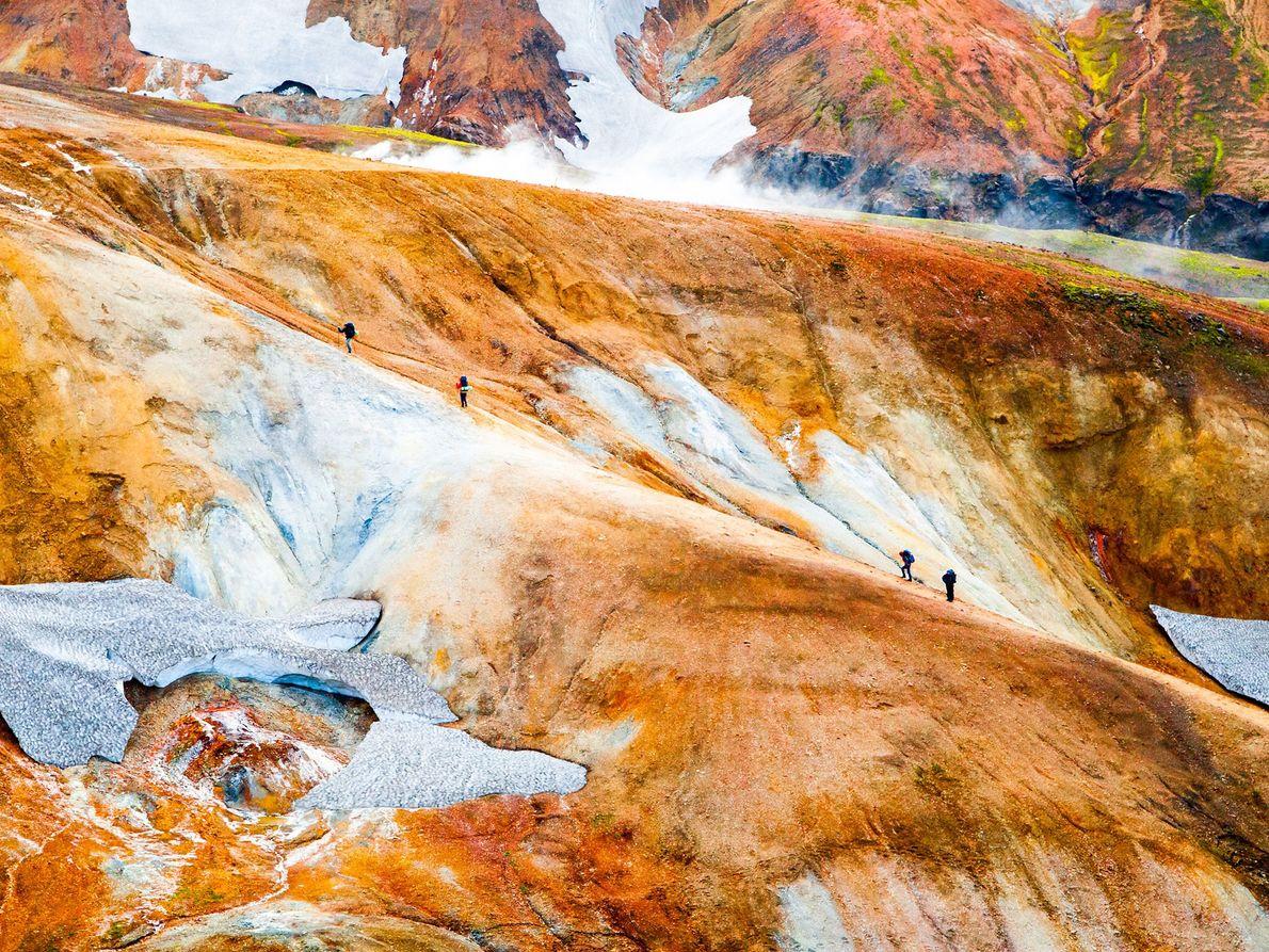 Landmannalaugar-Wanderweg