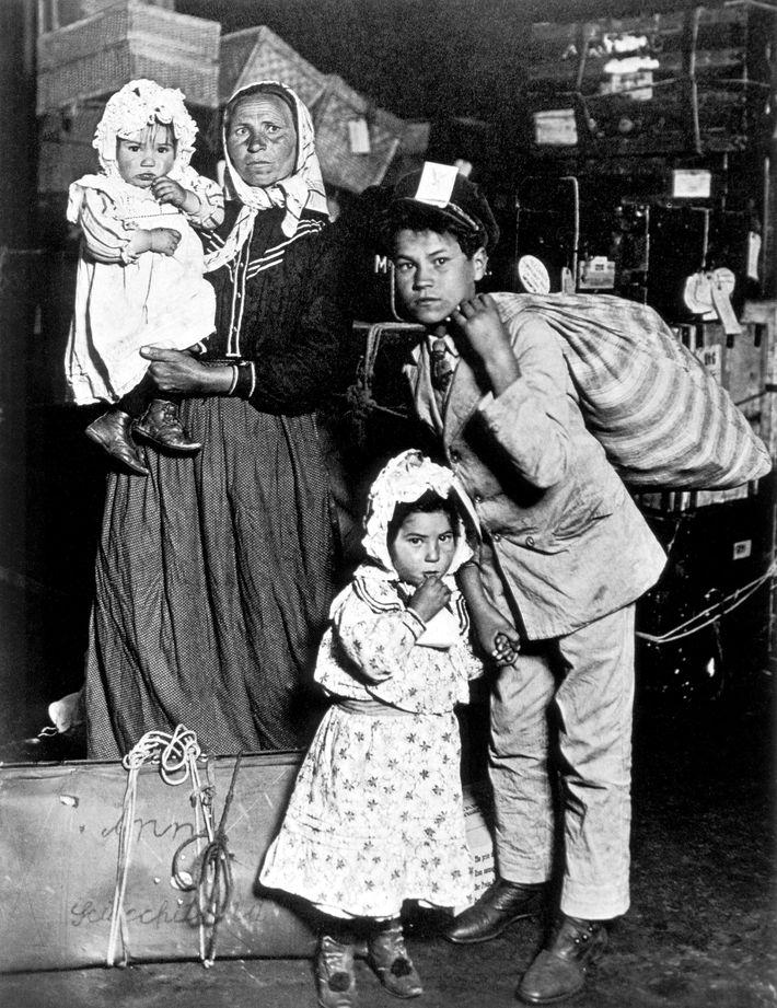 Einwandererfamilie