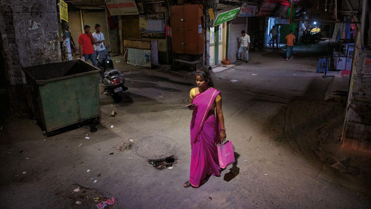 Inderinnen fordern ein Recht auf Sicherheit