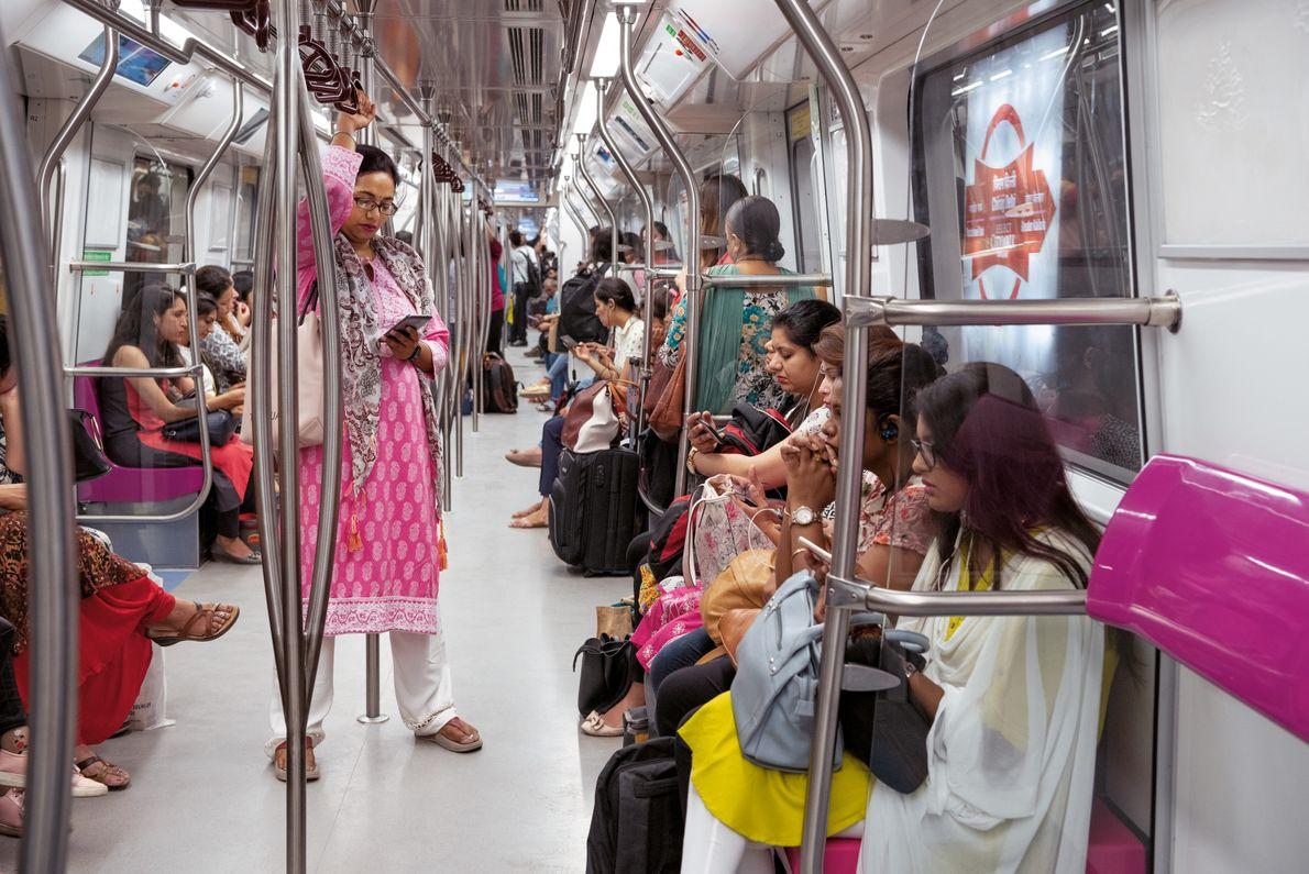 U-Bahn in Indien