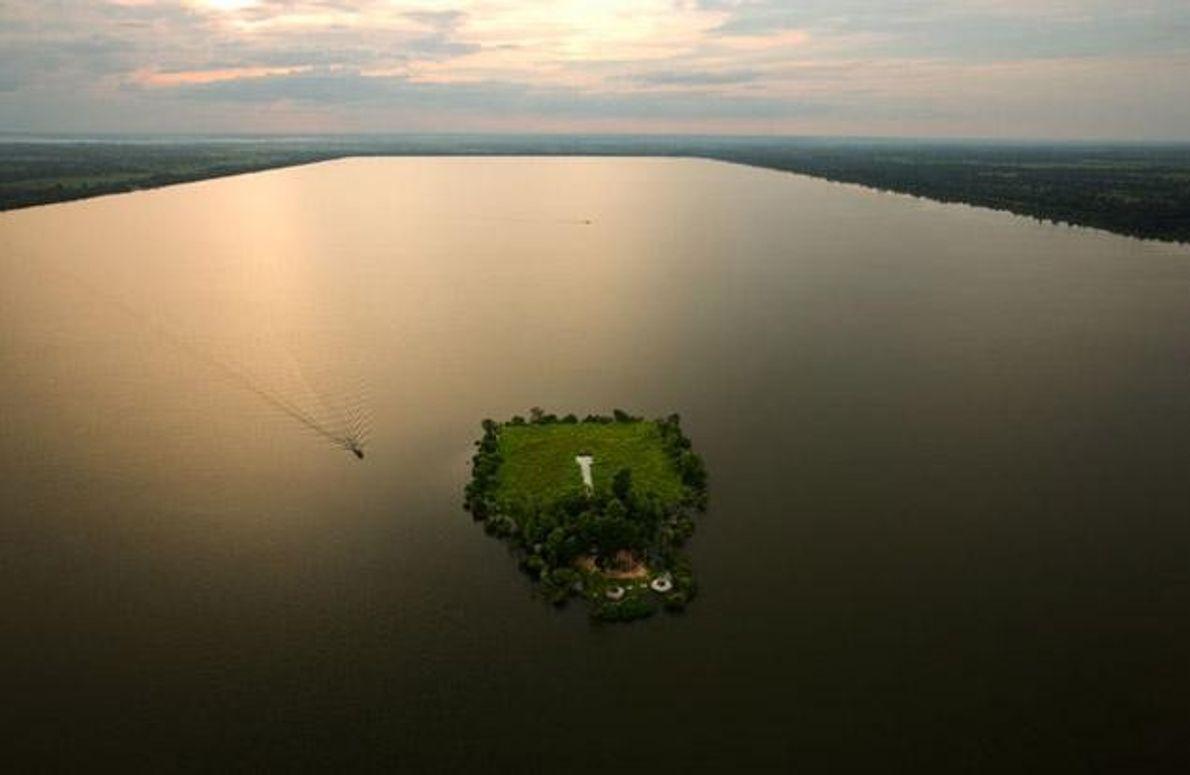 Insel Baray