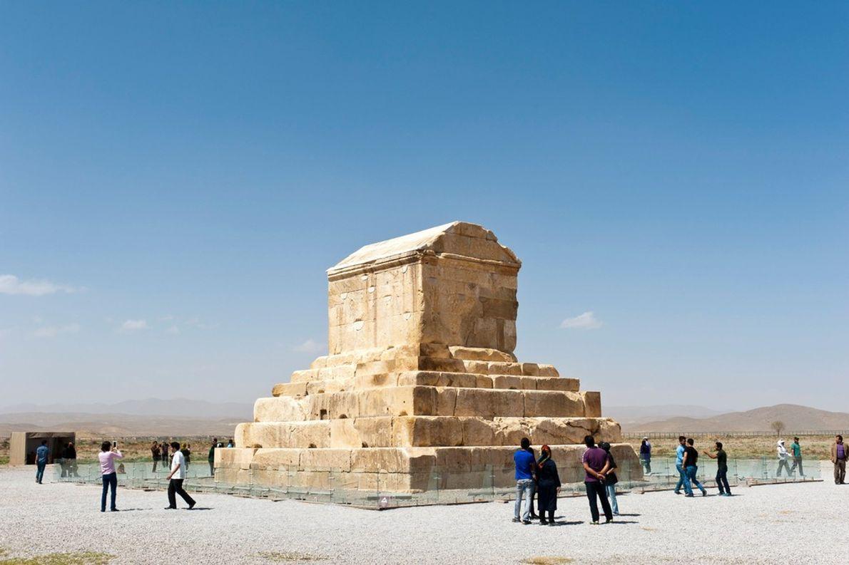 Grabmal des persischen Herrschers Kyros II