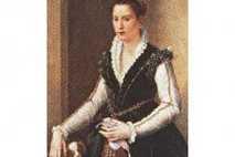 Isabella de' Medici, eine der Töchter von Großherzog Cosimo I. und Eleonora da Toledo, gemalt um ...