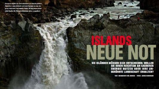 Islands neue Not