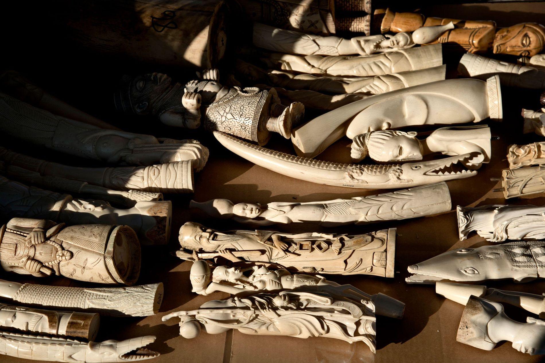 Gegenstände aus Elfenbein