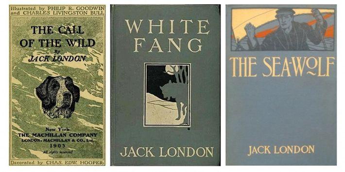 """""""Ruf der Wildnis"""" (1903) war Londons erster kommerzieller Erfolg. Das Buch erzählt die Geschichte eines Hundes, ..."""