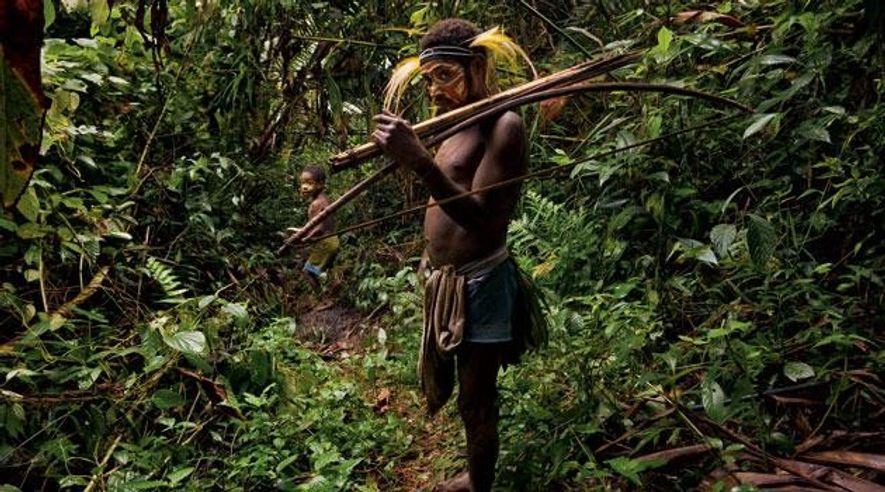 Die letzten Höhlenmenschen von Papua-Neuguinea