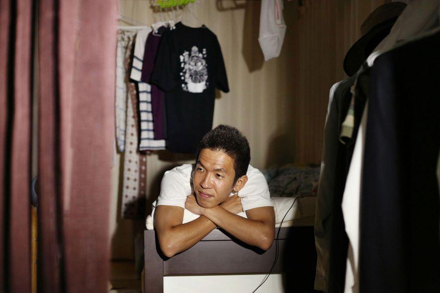 Als Elan das Foto des damals 34 Jahre alten Ikuo Nakamura machte, lebte er schon seit ...
