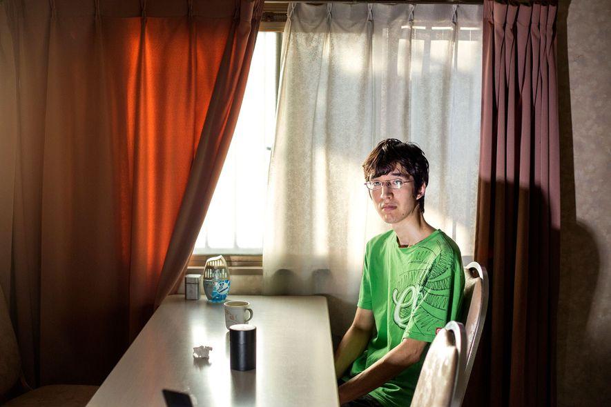 Riki Cook, 31, hat einen amerikanischen Vater und eine japanische Mutter. Seine Familie lebt größtenteils in ...