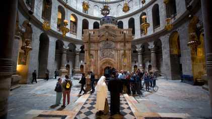 Exklusiv: Alter des Heiligen Grabes Jesu Christi festgestellt