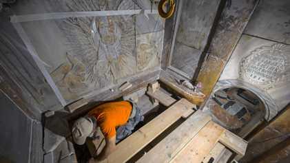 Galerie: Exklusiv: Alter des Heiligen Grabes Jesu Christi festgestellt