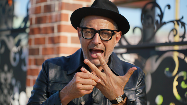 The World According to Jeff Goldblum auf Disney+.