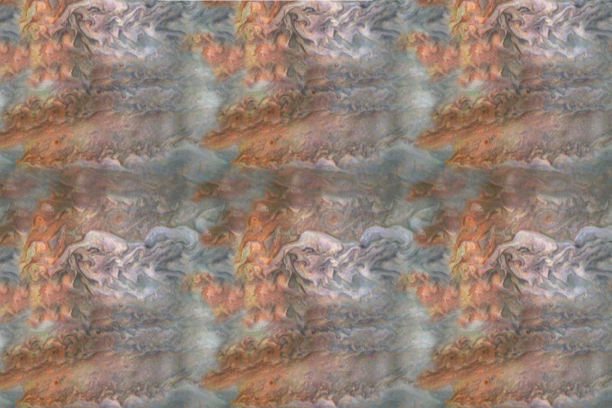 Bearbeitetes Rohbild vom Jupiter