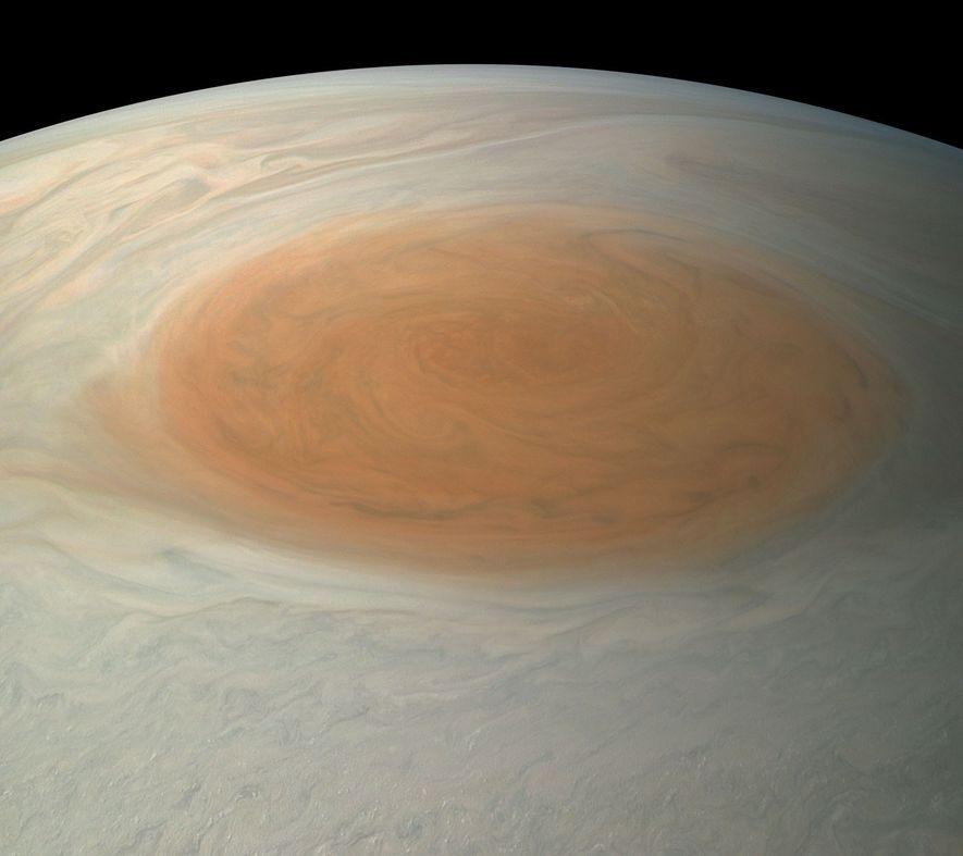 Zukunft des Großen Roten Flecks auf dem Jupiter ist ungewiss