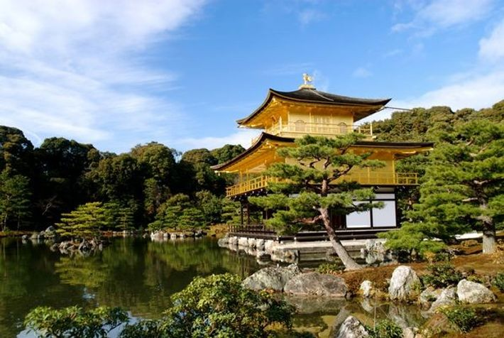Kinkaku-ji (Goldener Pavillon), Japan