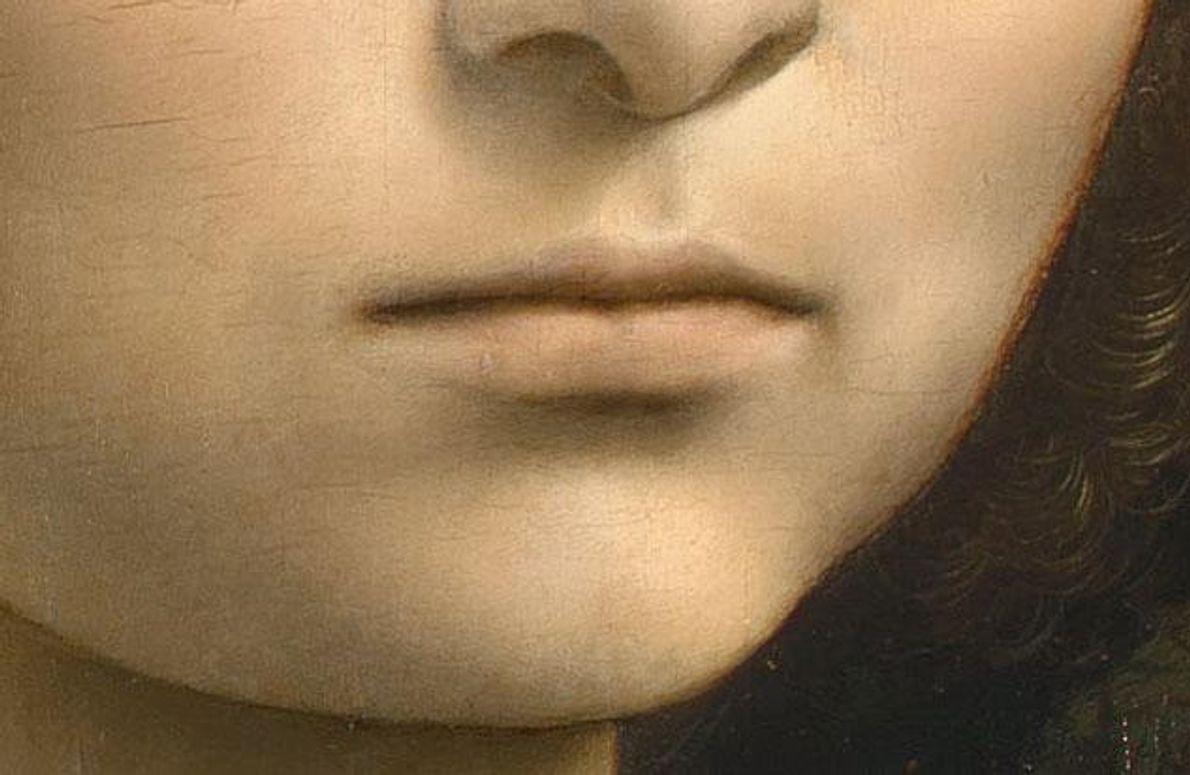Leonardo malte Frauen mit unerreichter Zartheit und Gefühl. In einem frühen Porträt zeigt er sein großes …