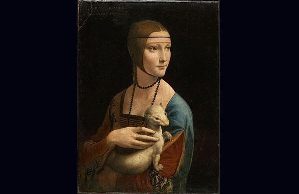 """Dame mit dem Hermelin"", ca. 1488–ca. 1490"