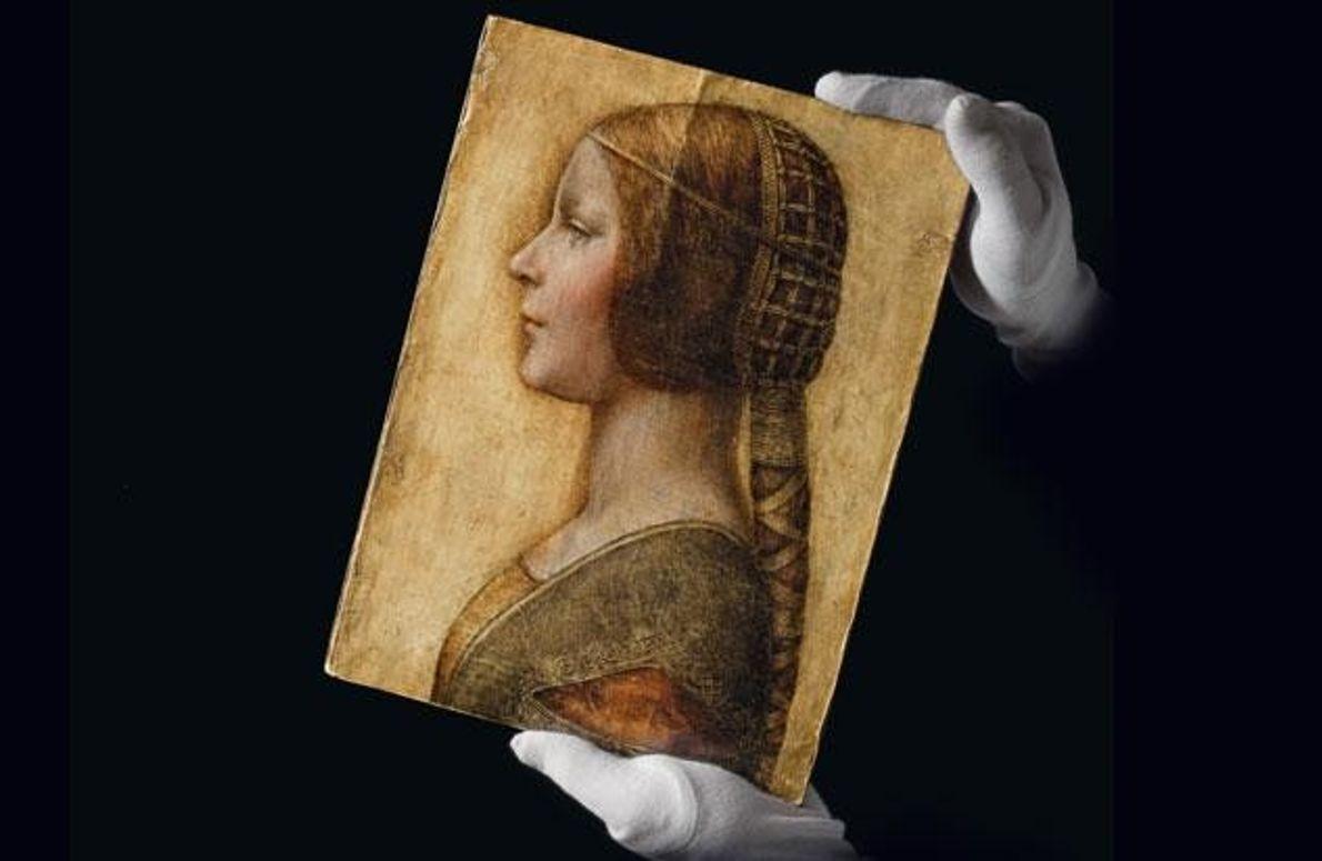 "Die Spur der ""La Bella Principessa"" führt zu Leonardo da Vinci."
