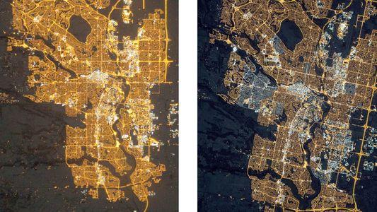 Mehr Lichtverschmutzung seit Umstieg auf LEDs
