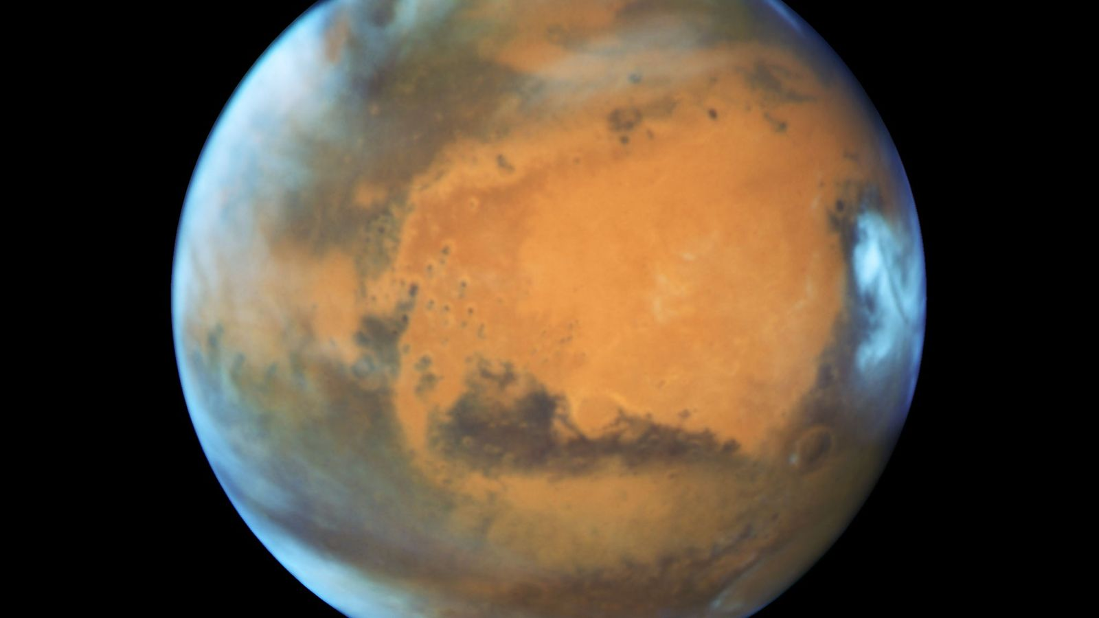 Nahaufnahme des Mars