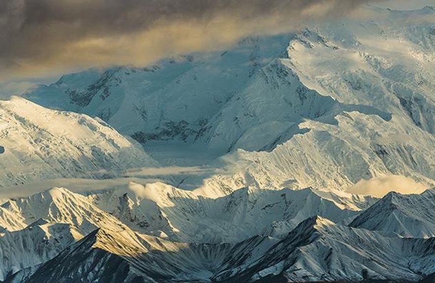 Ein Riese gibt dem Park seinen Namen: Der Denali ist mit 6190 Metern der höchste Berg …
