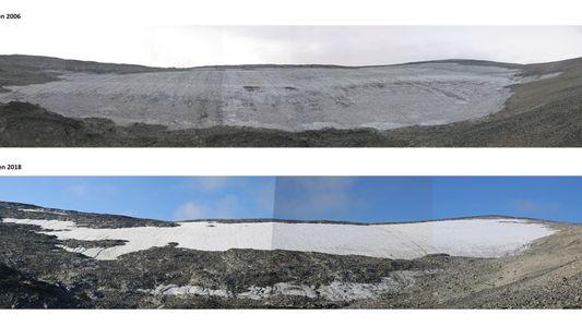 Eisschmelze legt verborgenen Handelspass der Wikinger frei